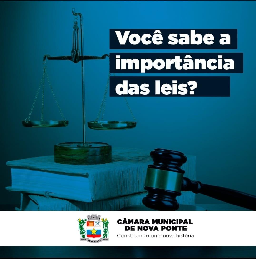 Importância das Leis